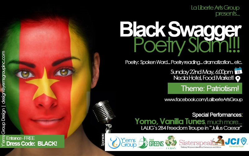 Black Swagger Poetry Slam - May Edition
